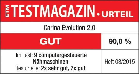 Carina Nähmaschinen  Nähmaschine Carina Evolution 20  -> Nähmaschine Carina Evolution